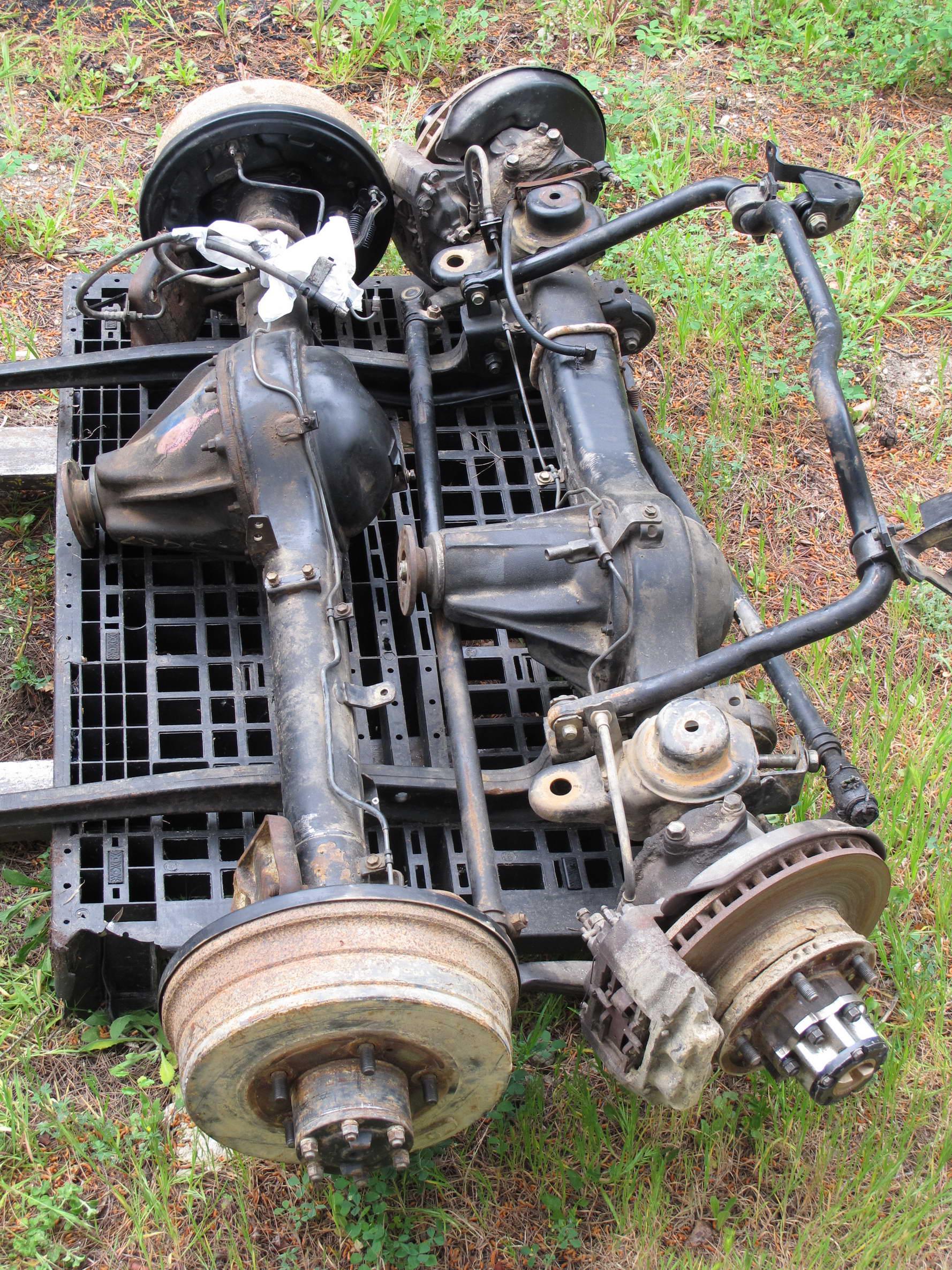 Pièces détachées occasion 4x4 LAND CRUISER Toyota HZJ 79 ...